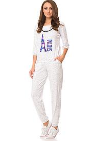 Костюм (блуза+брюки) 65104