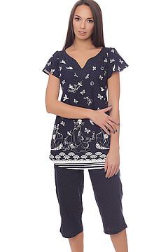 Костюм (блуза+бриджи)