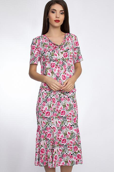 Костюм (юбка+блуза) за 1540 руб.
