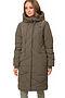 Утепленное пальто #67176. Вид 1.