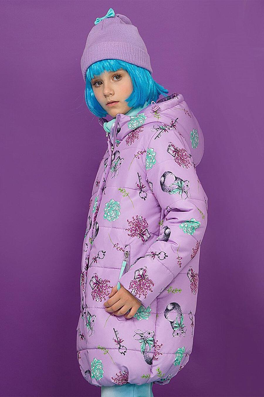 Куртка для девочек PELICAN 116972 купить оптом от производителя. Совместная покупка детской одежды в OptMoyo