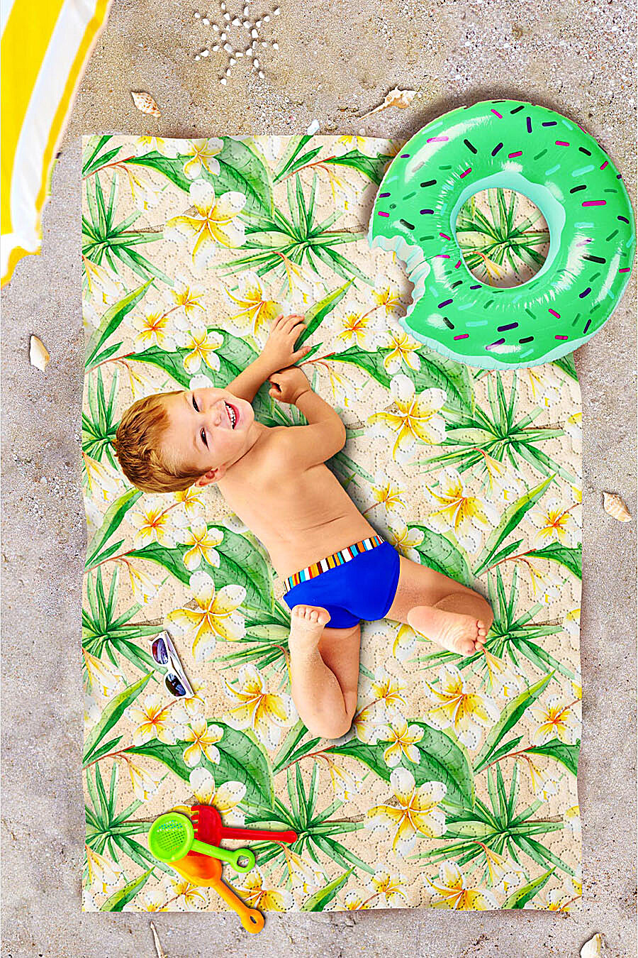 Пляжное покрывало для дома ART HOME TEXTILE 117966 купить оптом от производителя. Совместная покупка товаров для дома в OptMoyo