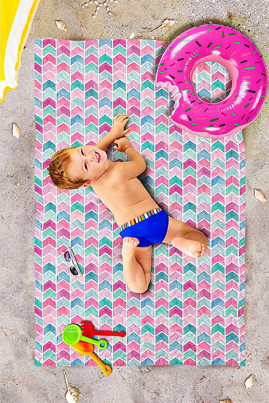 Пляжное покрывало для дома ART HOME TEXTILE 118057 купить оптом от производителя. Совместная покупка товаров для дома в OptMoyo