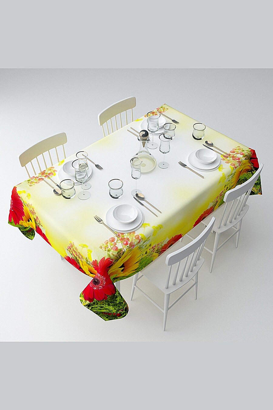 Скатерть с пропиткой для дома ART HOME TEXTILE 121067 купить оптом от производителя. Совместная покупка товаров для дома в OptMoyo