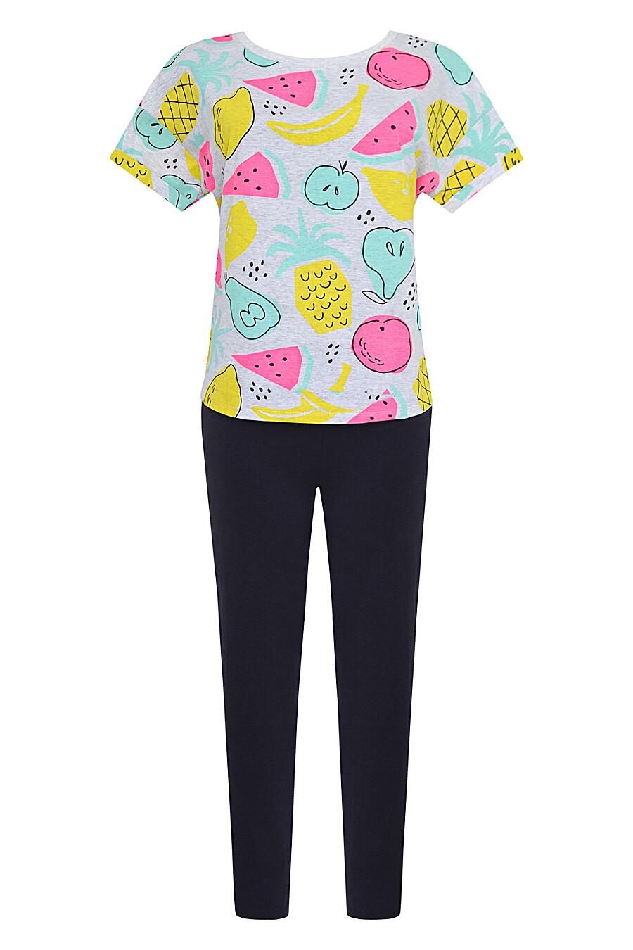 Комплект (Легинсы+Футболка) для женщин TRIKOZZA 121702 купить оптом от производителя. Совместная покупка женской одежды в OptMoyo