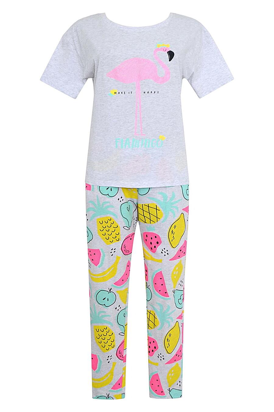 Комплект (Легинсы+Футболка) для женщин TRIKOZZA 121703 купить оптом от производителя. Совместная покупка женской одежды в OptMoyo