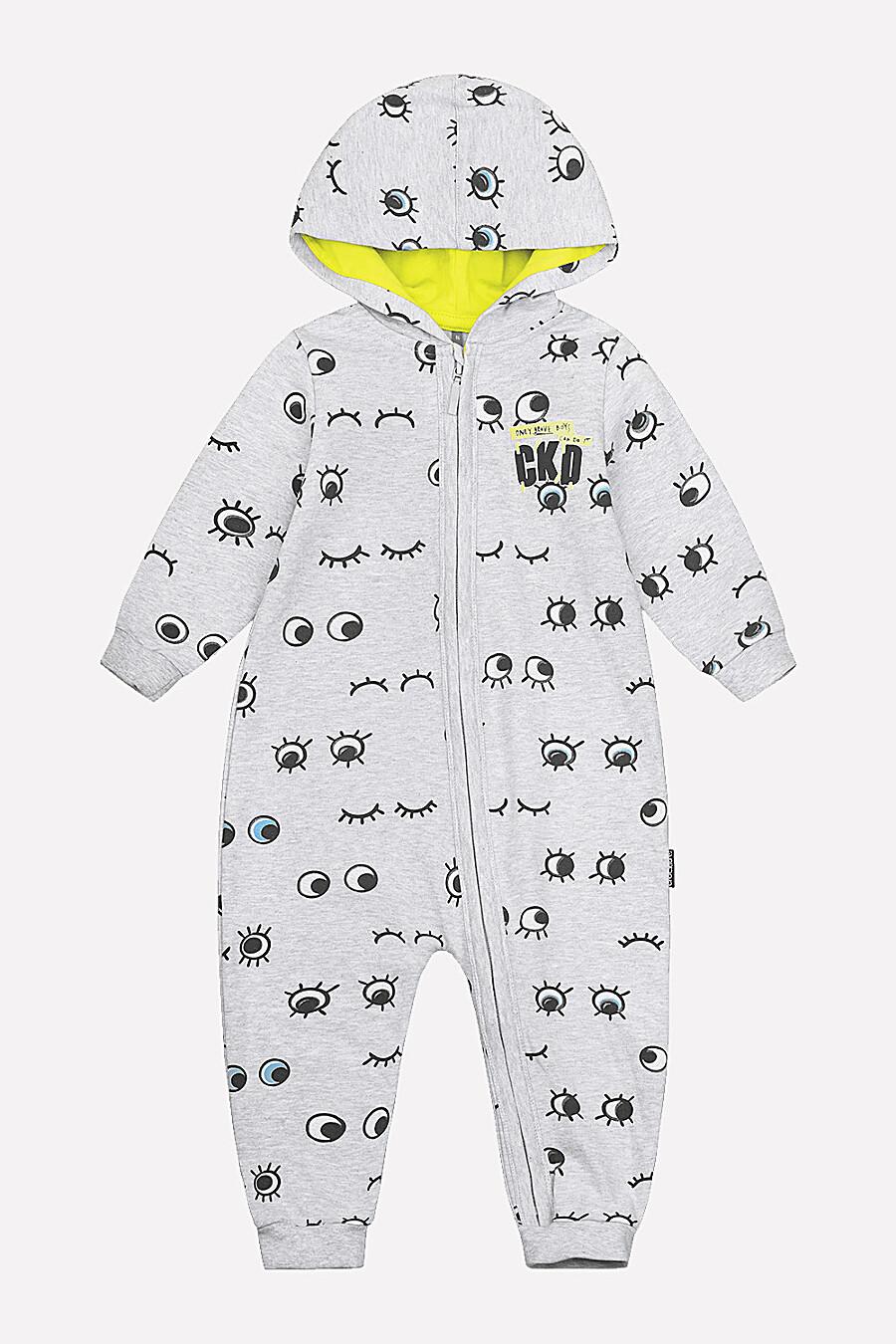 Комбинезон для девочек CROCKID 124068 купить оптом от производителя. Совместная покупка детской одежды в OptMoyo