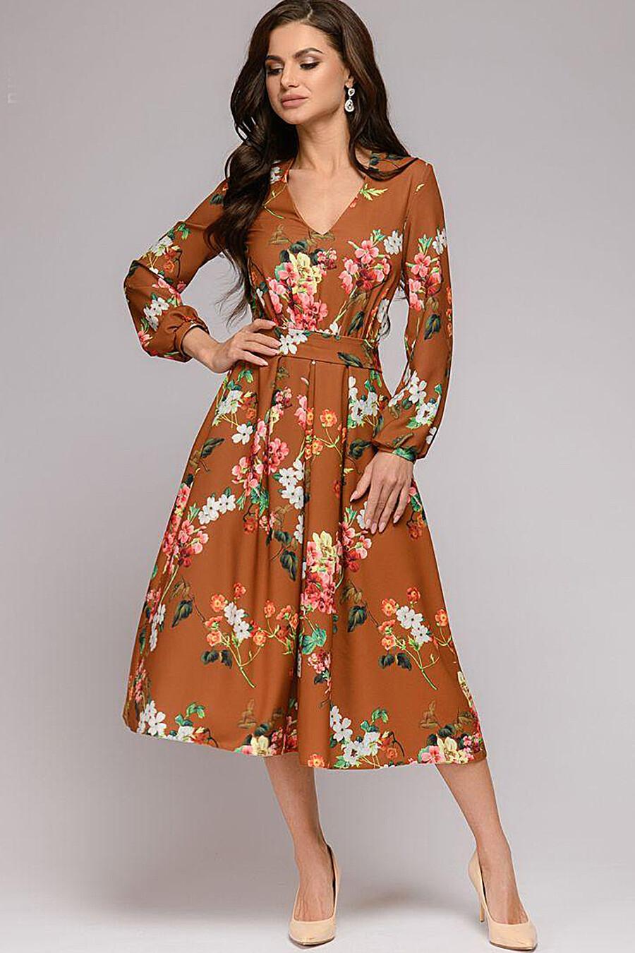 Платье для женщин 1001 DRESS 130780 купить оптом от производителя. Совместная покупка женской одежды в OptMoyo