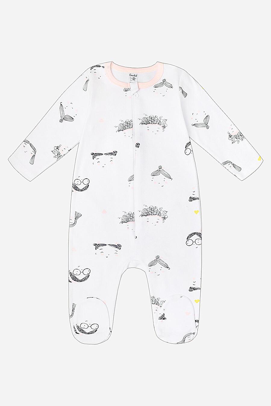 Комбинезон для девочек CROCKID 130816 купить оптом от производителя. Совместная покупка детской одежды в OptMoyo