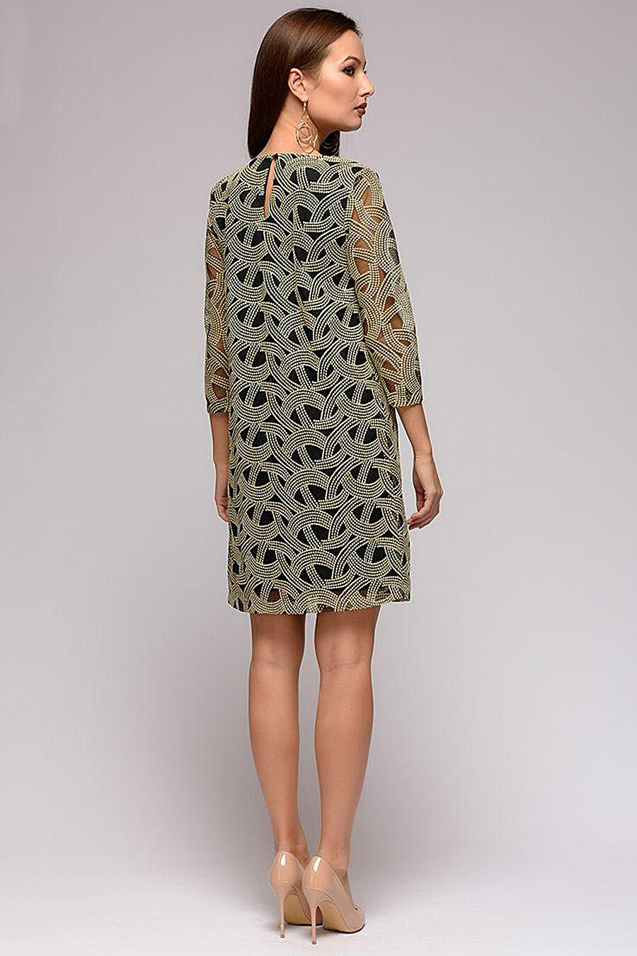 Платье для женщин 1001 DRESS 130982 купить оптом от производителя. Совместная покупка женской одежды в OptMoyo