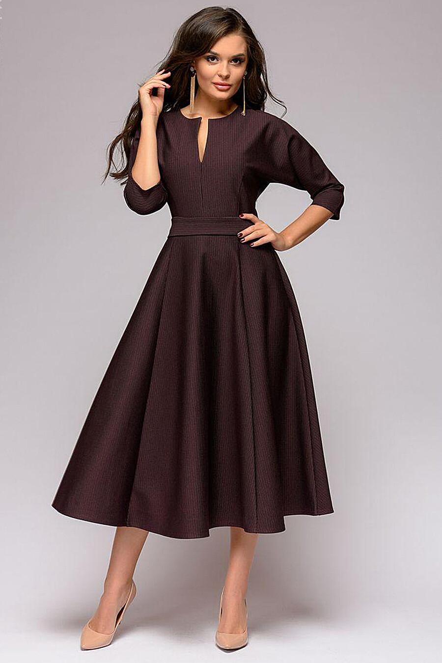 Платье для женщин 1001 DRESS 130995 купить оптом от производителя. Совместная покупка женской одежды в OptMoyo
