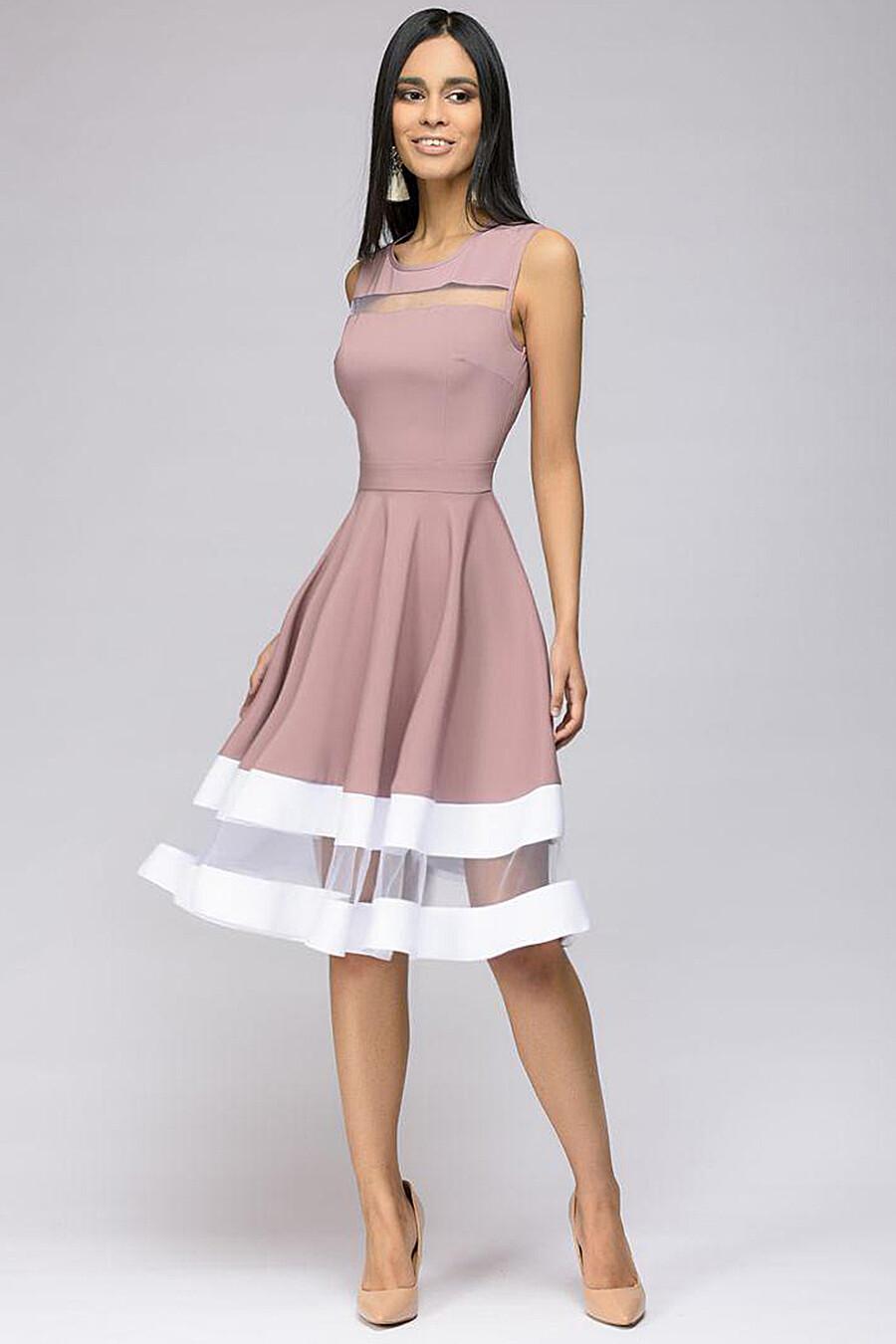 Платье для женщин 1001 DRESS 131194 купить оптом от производителя. Совместная покупка женской одежды в OptMoyo