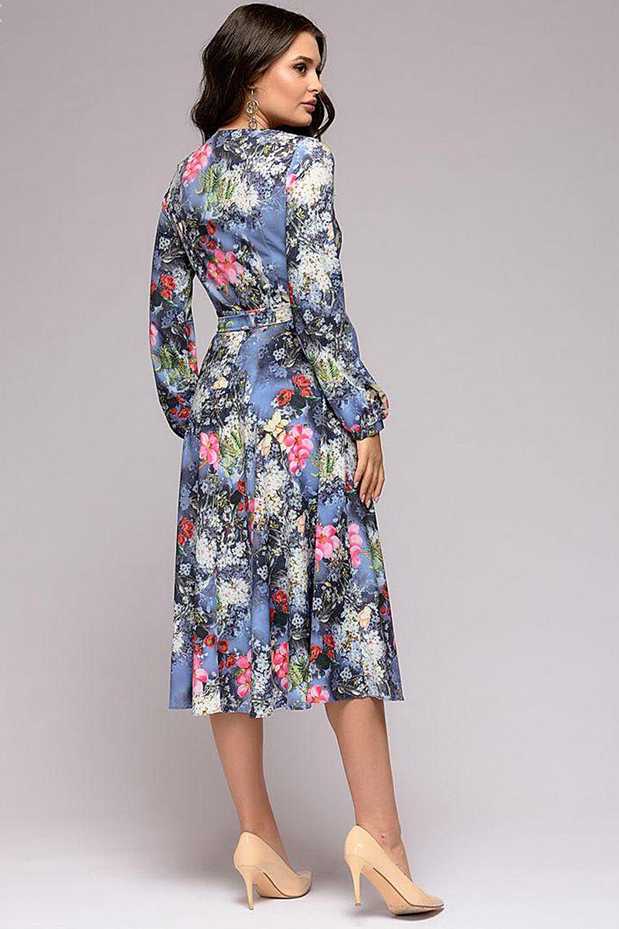 Платье для женщин 1001 DRESS 131238 купить оптом от производителя. Совместная покупка женской одежды в OptMoyo
