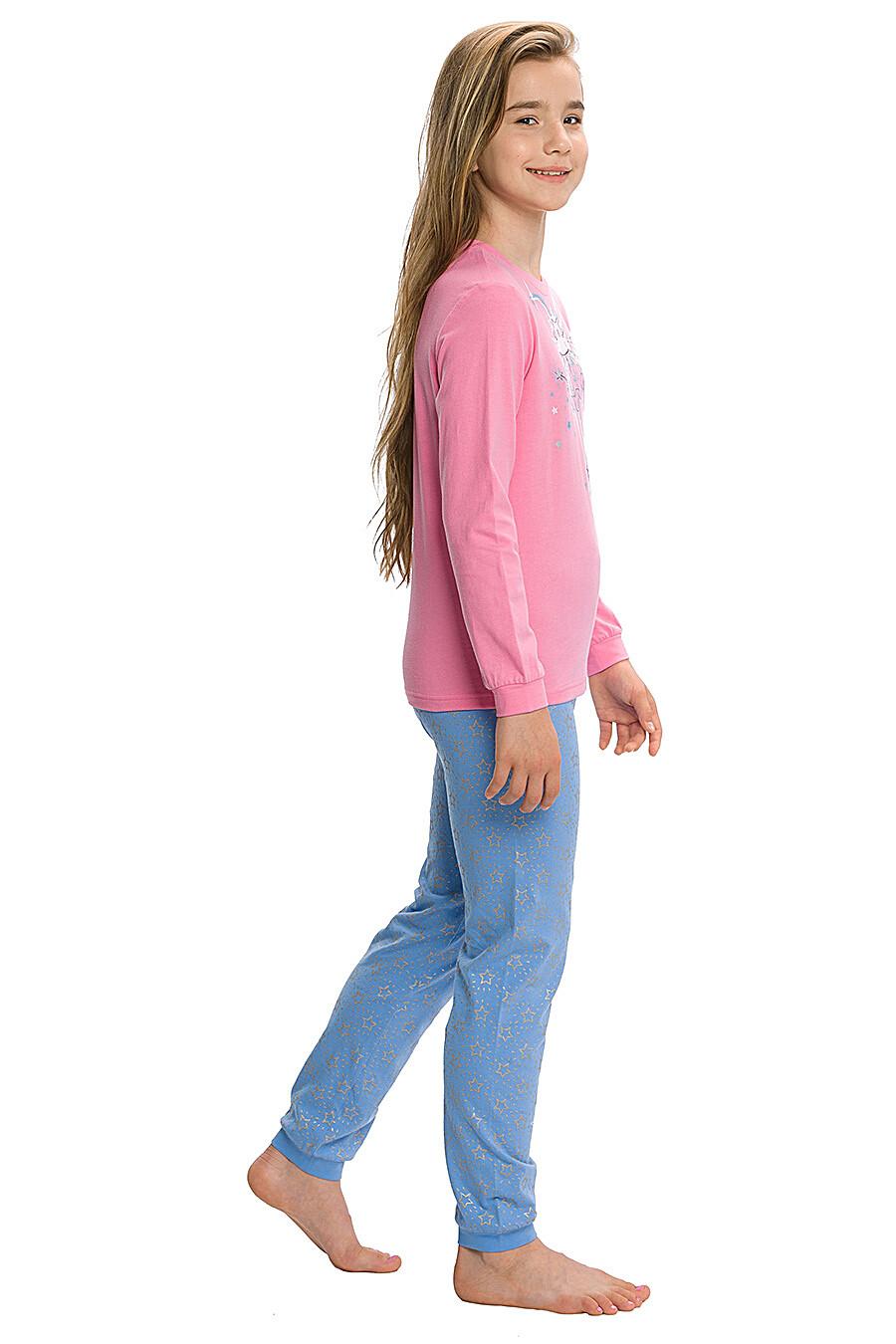 Пижама для девочек PELICAN 146050 купить оптом от производителя. Совместная покупка детской одежды в OptMoyo
