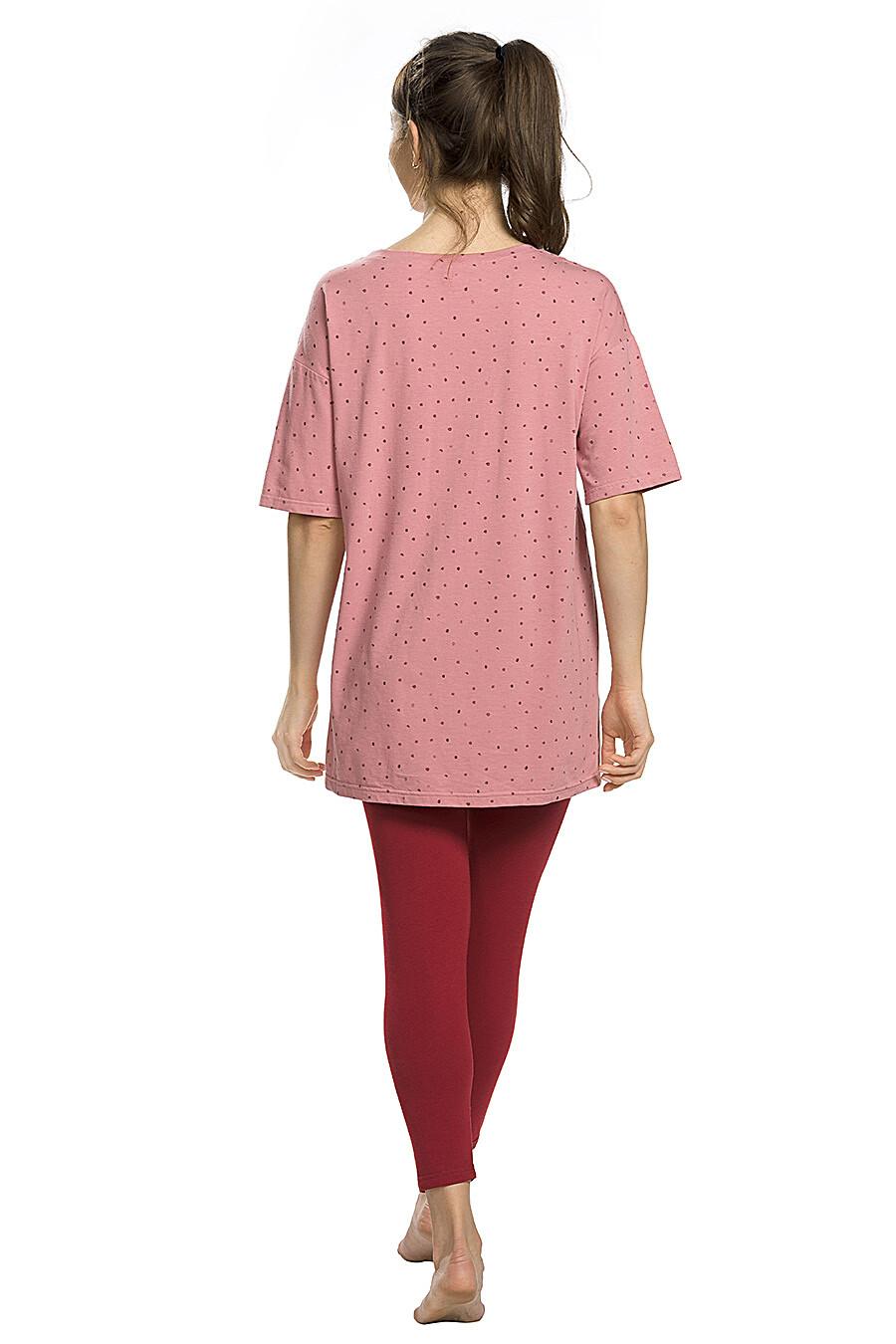 Копмлект (Легинсы+Футболка) для женщин PELICAN 146642 купить оптом от производителя. Совместная покупка женской одежды в OptMoyo