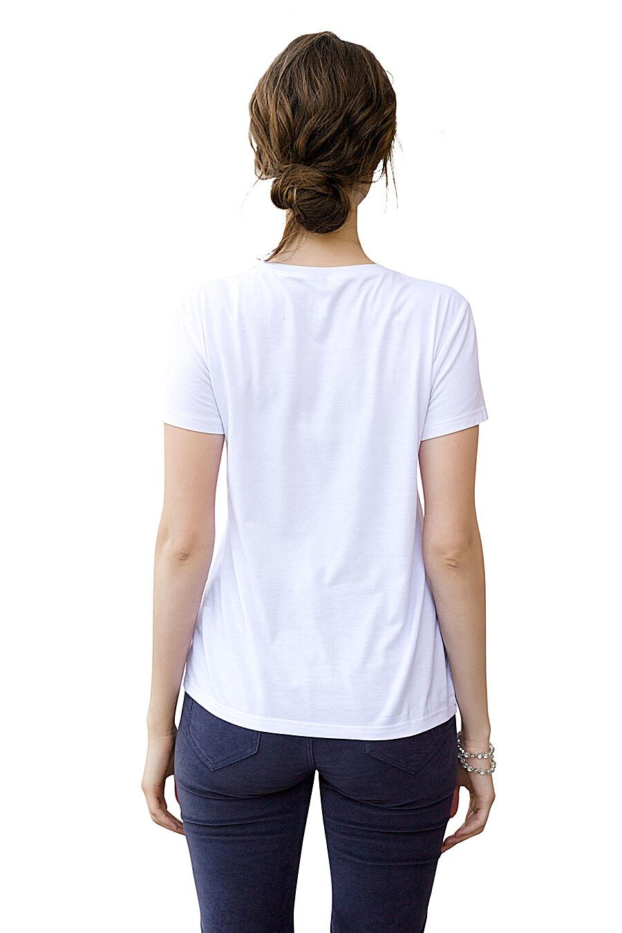 Футболка для женщин PELICAN 146729 купить оптом от производителя. Совместная покупка женской одежды в OptMoyo