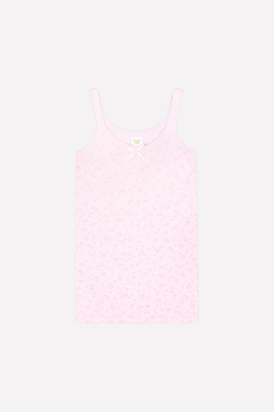 Майка для девочек CROCKID 147443 купить оптом от производителя. Совместная покупка детской одежды в OptMoyo