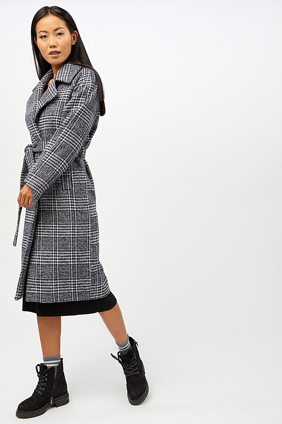 Пальто для женщин TOM FARR 148602 купить оптом от производителя. Совместная покупка женской одежды в OptMoyo