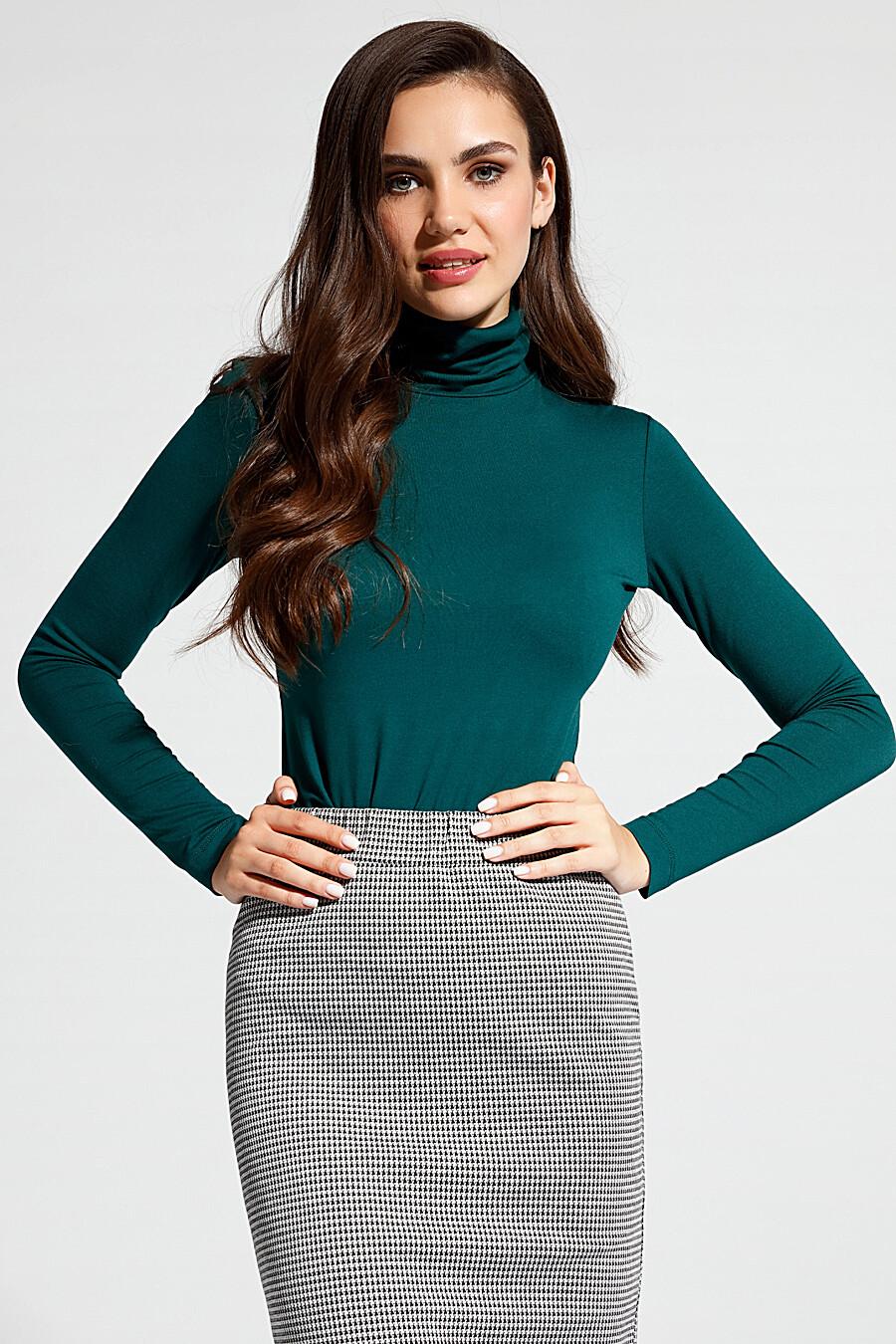 Водолазка для женщин CONTE ELEGANT 148631 купить оптом от производителя. Совместная покупка женской одежды в OptMoyo