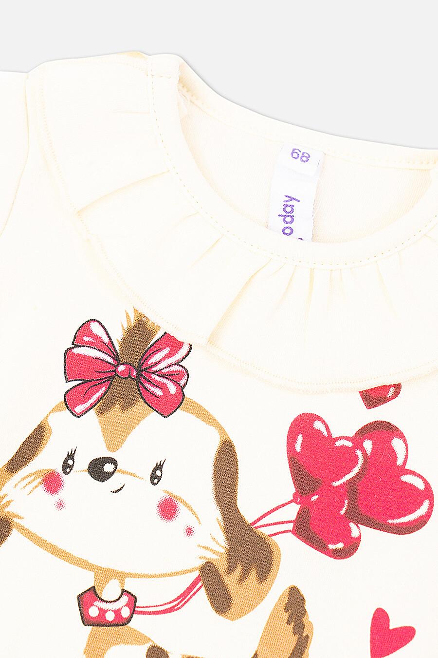 Боди для девочек PLAYTODAY 151817 купить оптом от производителя. Совместная покупка детской одежды в OptMoyo