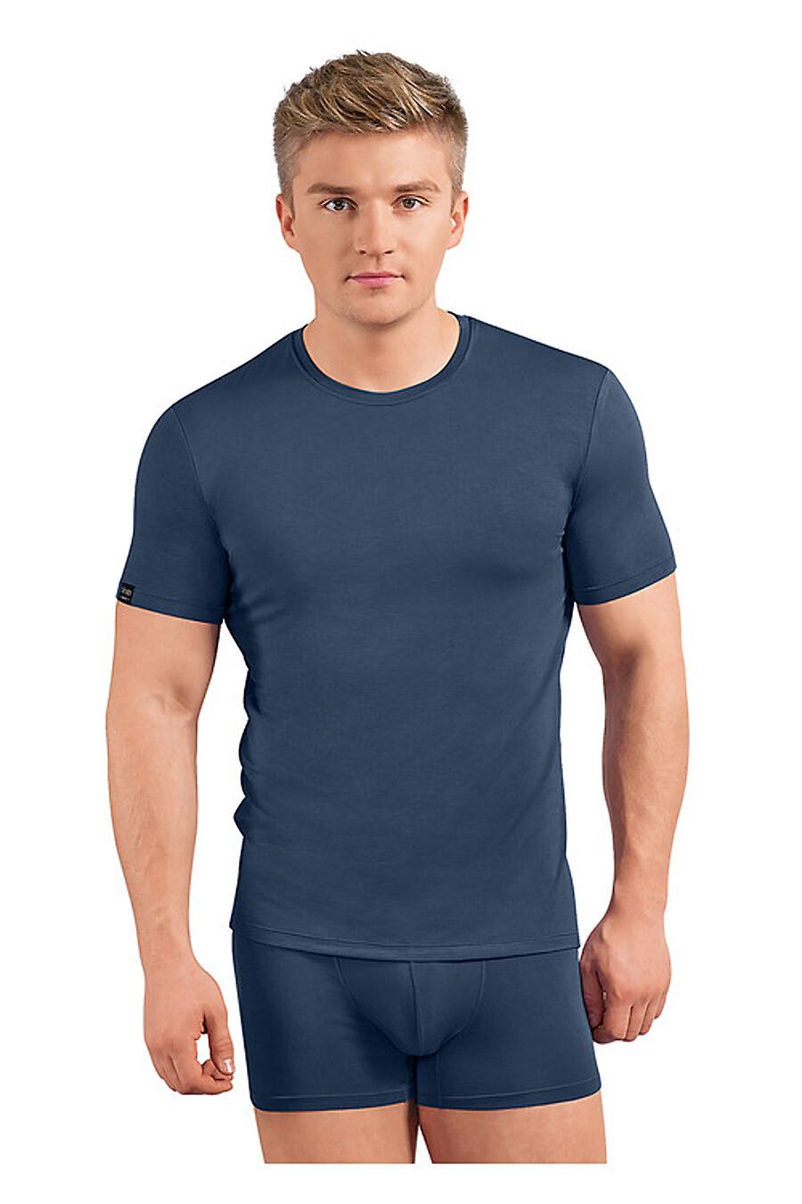 Футболка для мужчин CLEVER 151975 купить оптом от производителя. Совместная покупка мужской одежды в OptMoyo