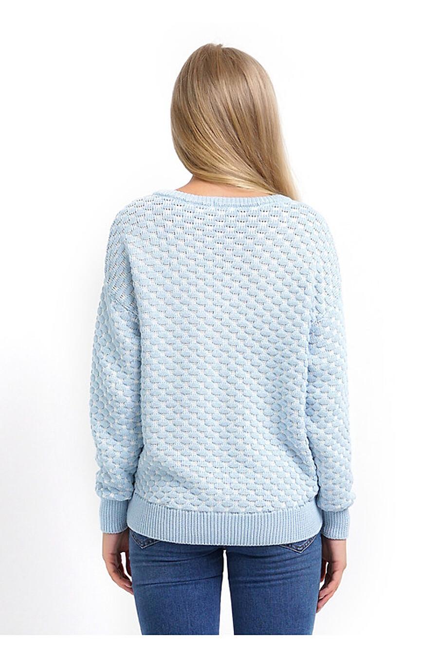 Джемпер для женщин CLEVER 155163 купить оптом от производителя. Совместная покупка женской одежды в OptMoyo