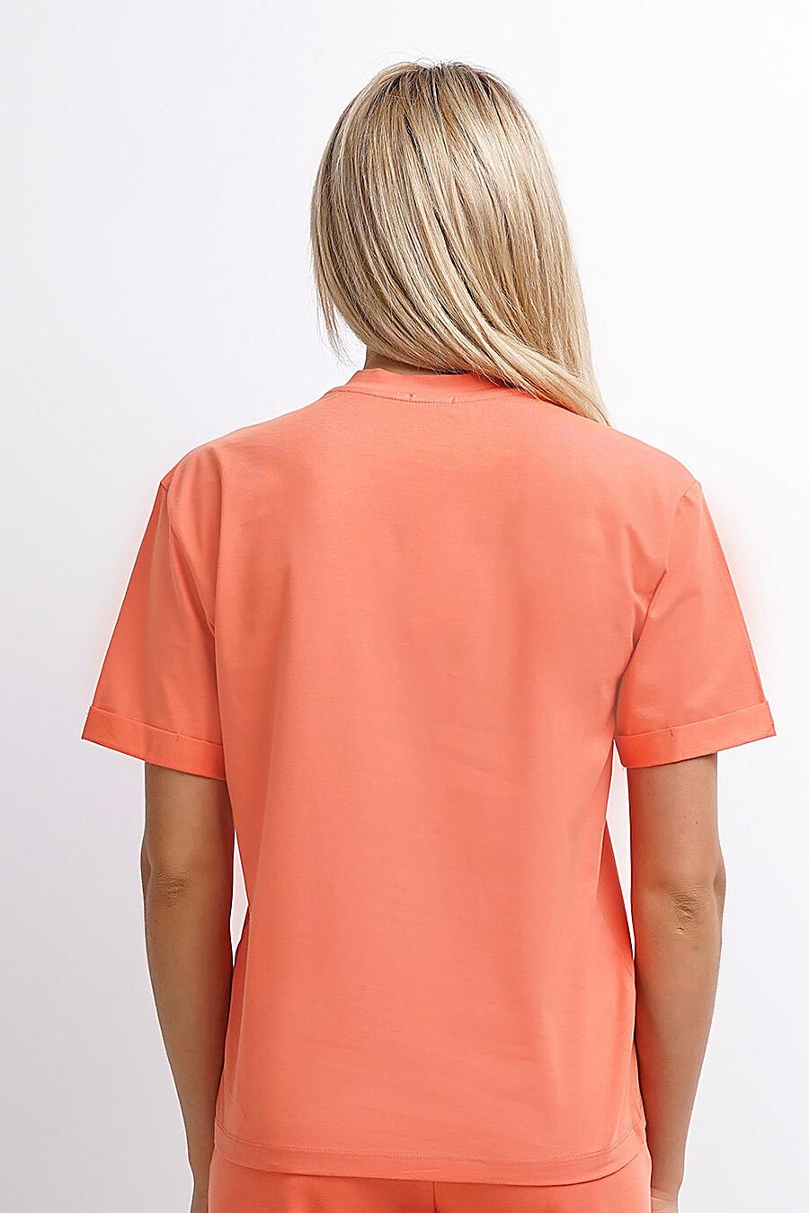 Футболка для женщин CLEVER 155197 купить оптом от производителя. Совместная покупка женской одежды в OptMoyo