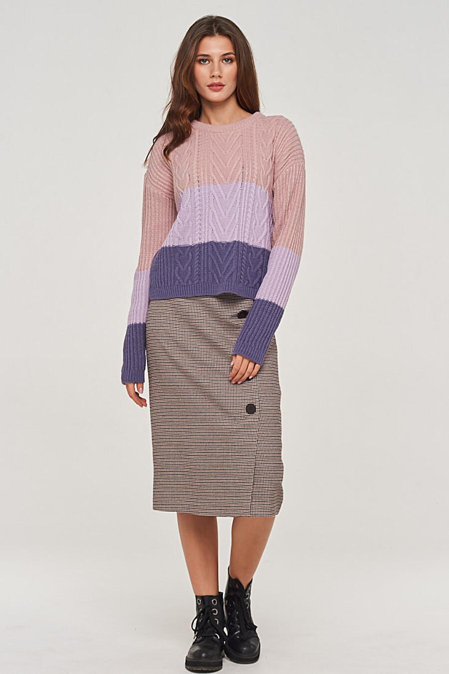 Джемпер для женщин VAY 155255 купить оптом от производителя. Совместная покупка женской одежды в OptMoyo