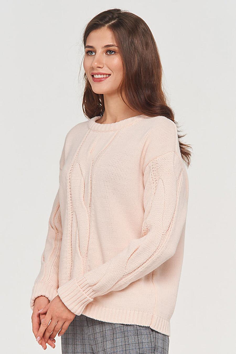 Джемпер для женщин VAY 155266 купить оптом от производителя. Совместная покупка женской одежды в OptMoyo