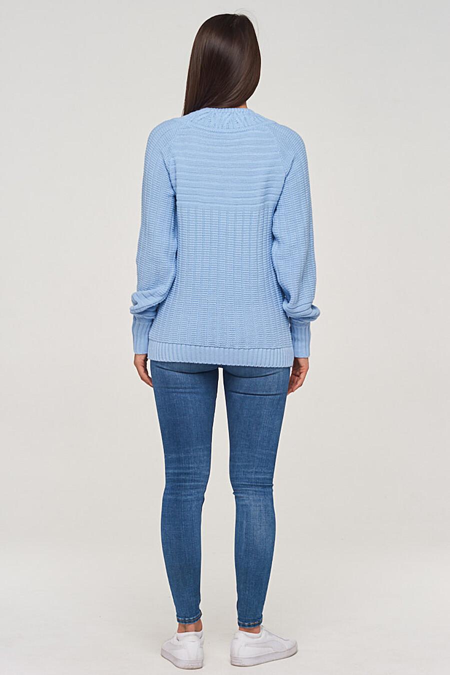 Джемпер для женщин VAY 155269 купить оптом от производителя. Совместная покупка женской одежды в OptMoyo