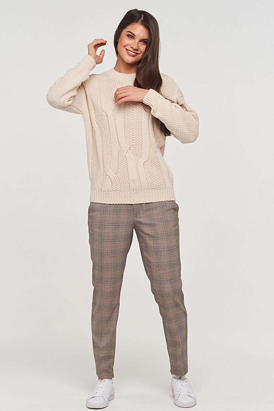 Джемпер для женщин VAY 155273 купить оптом от производителя. Совместная покупка женской одежды в OptMoyo