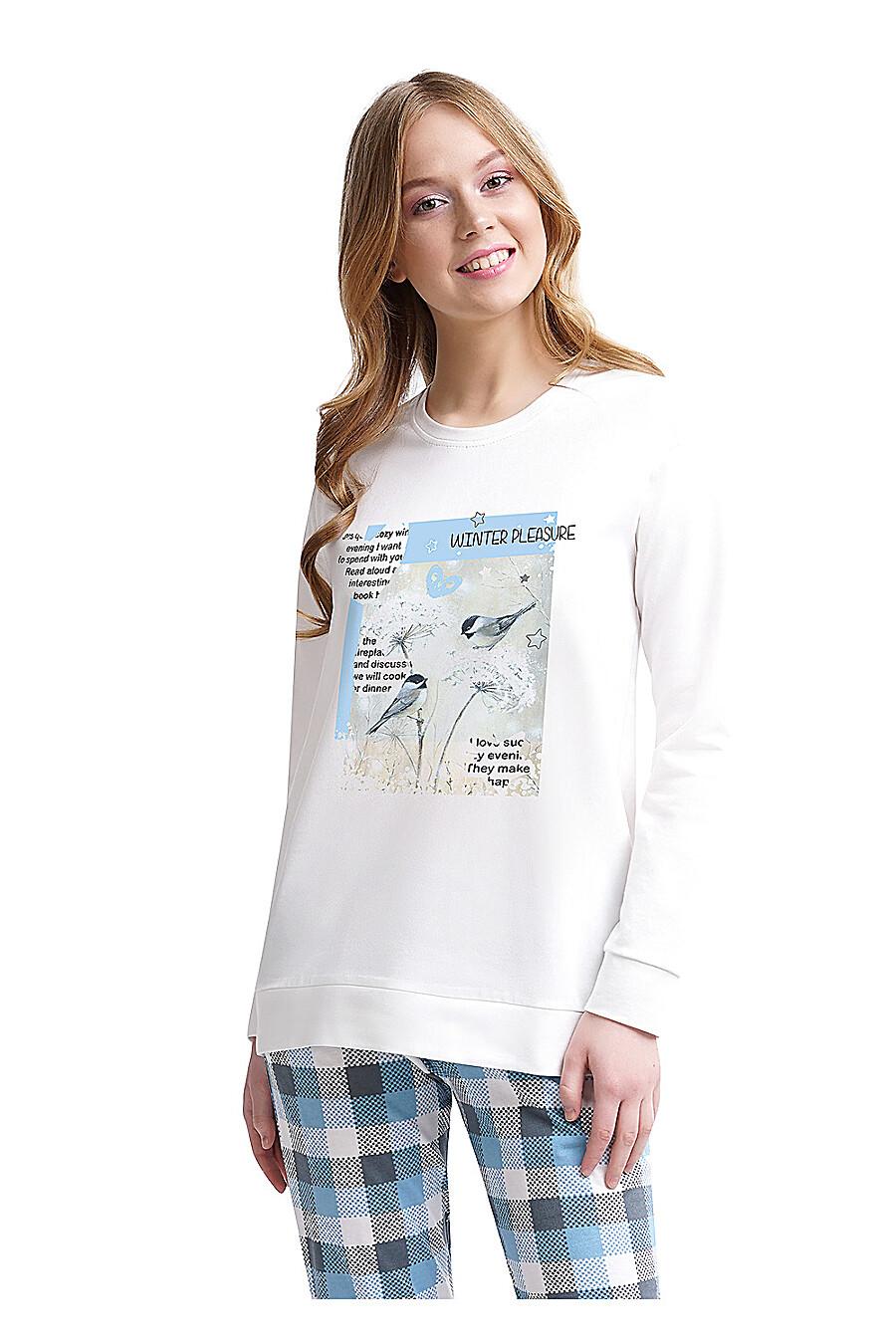 Джемпер для женщин CLEVER 155427 купить оптом от производителя. Совместная покупка женской одежды в OptMoyo