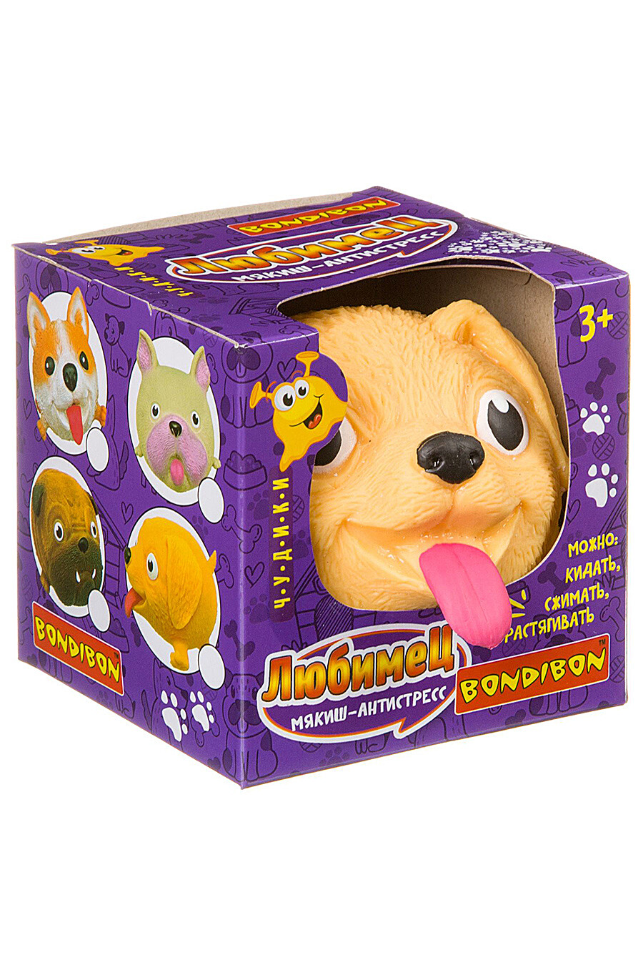 Мякиш-антистресс для детей BONDIBON 156949 купить оптом от производителя. Совместная покупка игрушек в OptMoyo
