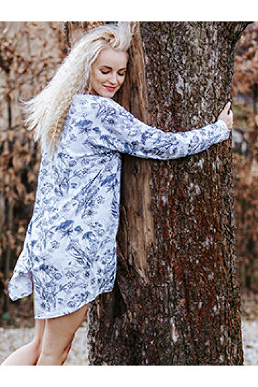 Сорочка для женщин KEY 158728 купить оптом от производителя. Совместная покупка женской одежды в OptMoyo