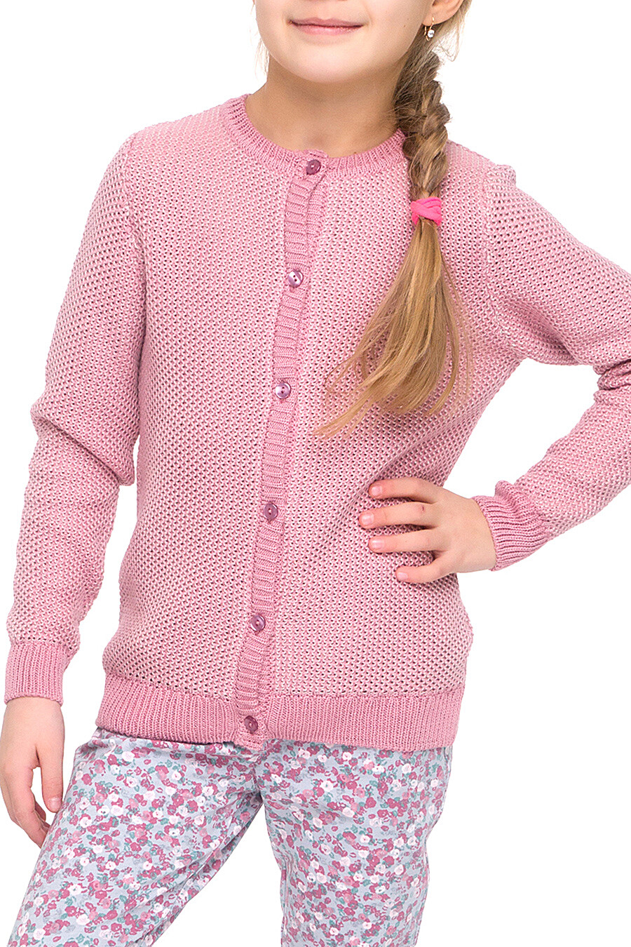 Жакет для девочек CLEVER 158821 купить оптом от производителя. Совместная покупка детской одежды в OptMoyo