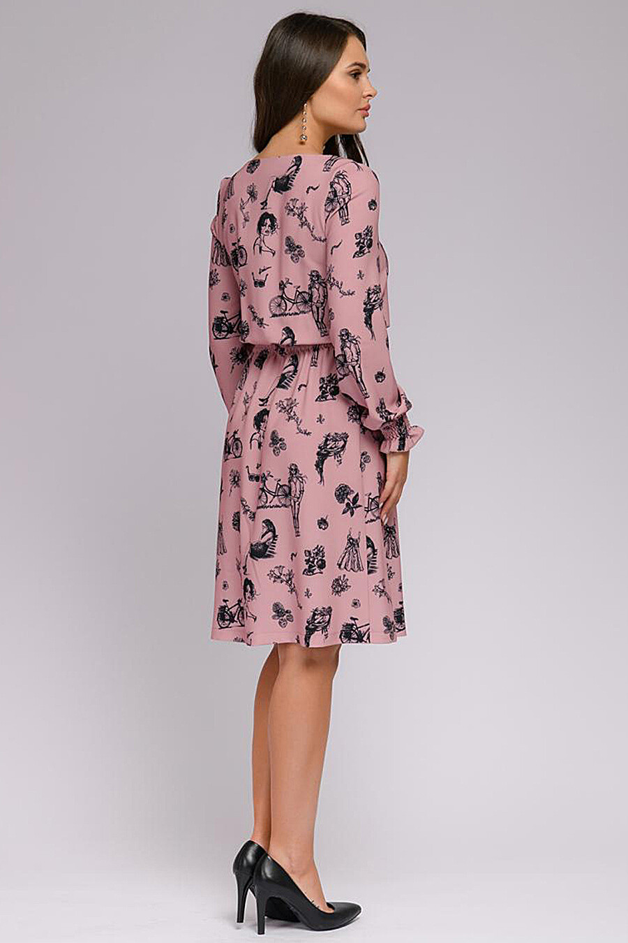 Платье для женщин 1001 DRESS 159053 купить оптом от производителя. Совместная покупка женской одежды в OptMoyo