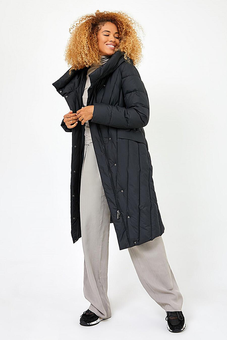 Пальто для женщин TOM FARR 159088 купить оптом от производителя. Совместная покупка женской одежды в OptMoyo