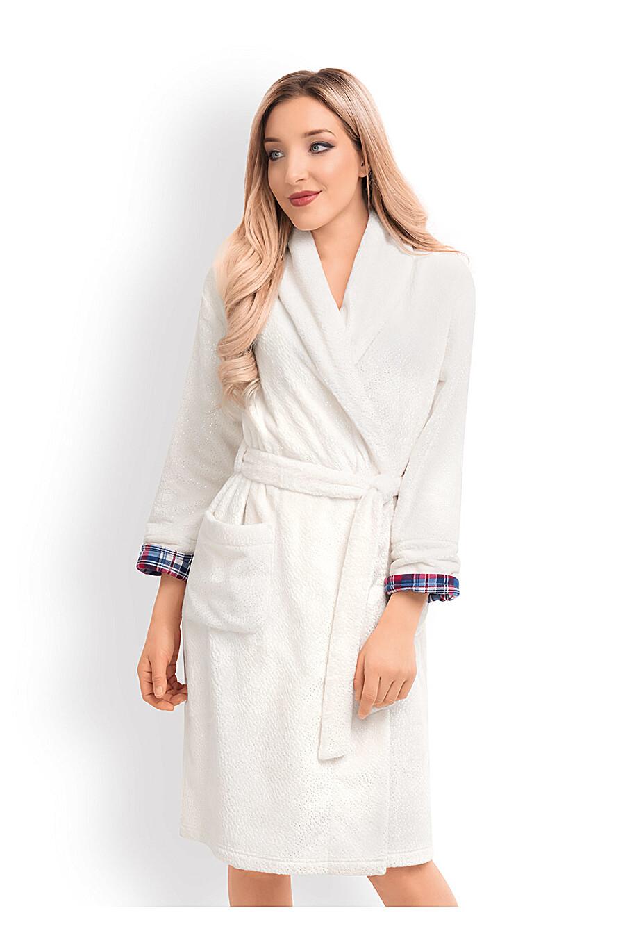 Халат для женщин CLEVER 159143 купить оптом от производителя. Совместная покупка женской одежды в OptMoyo