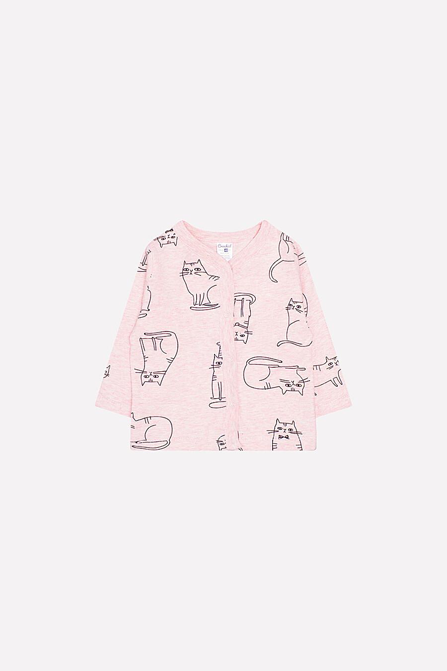 Джемпер для девочек CROCKID 161170 купить оптом от производителя. Совместная покупка детской одежды в OptMoyo