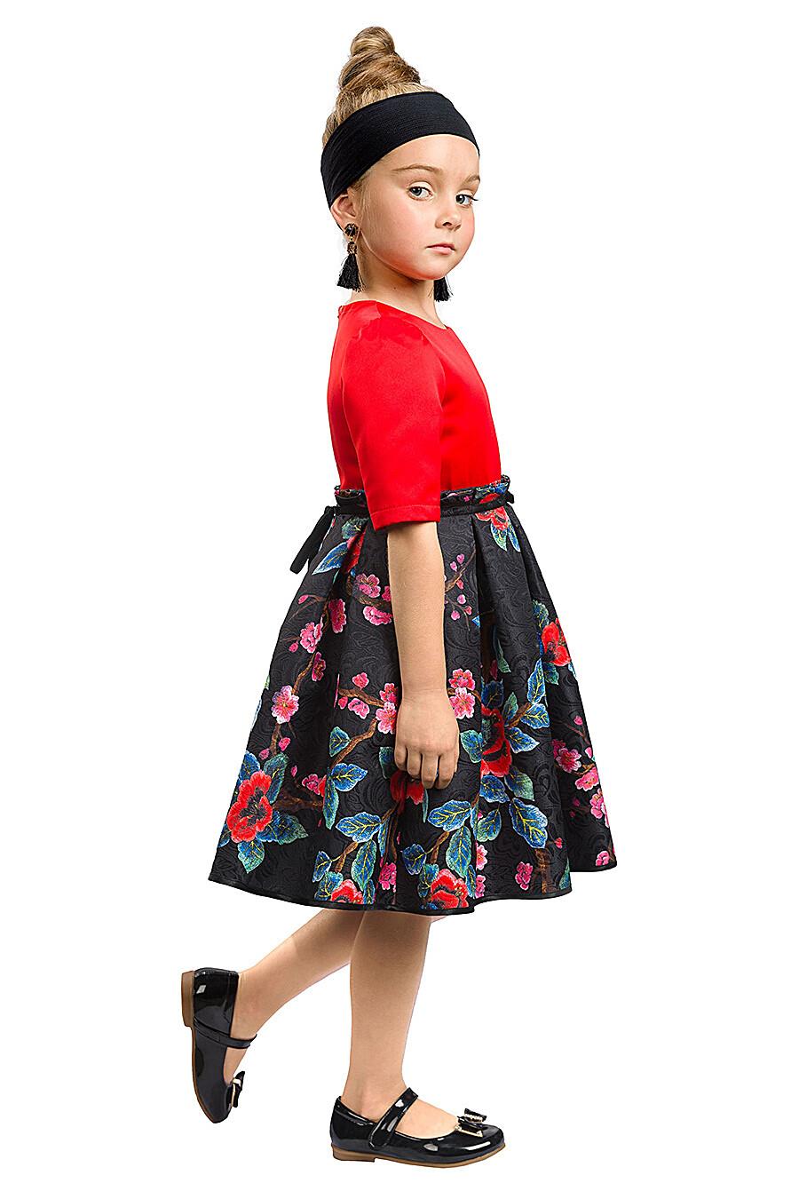 Платье для девочек PELICAN 161283 купить оптом от производителя. Совместная покупка детской одежды в OptMoyo
