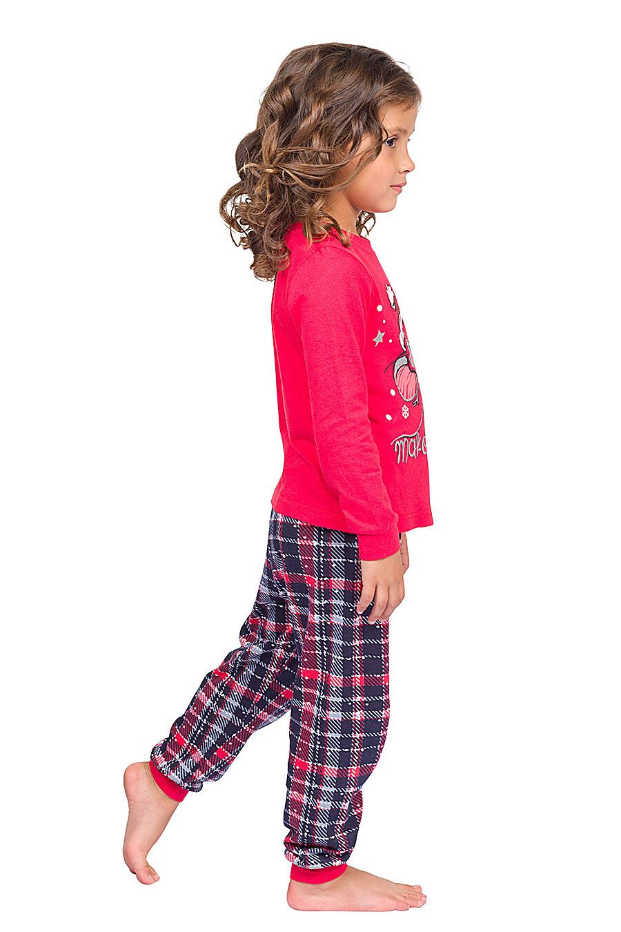 Пижама для девочек PELICAN 161312 купить оптом от производителя. Совместная покупка детской одежды в OptMoyo