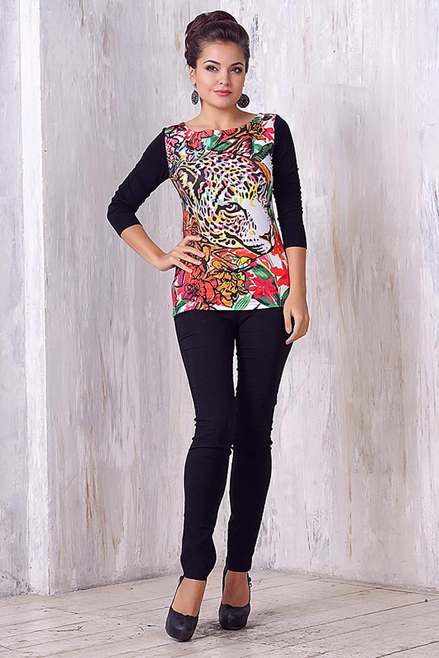 Джемпер для женщин VAY 161343 купить оптом от производителя. Совместная покупка женской одежды в OptMoyo