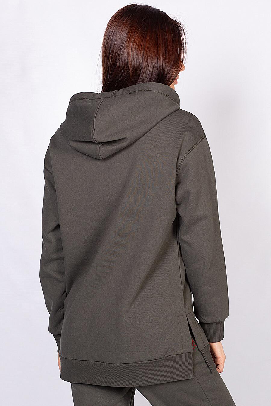 Толстовка для женщин OXOUNO 161392 купить оптом от производителя. Совместная покупка женской одежды в OptMoyo