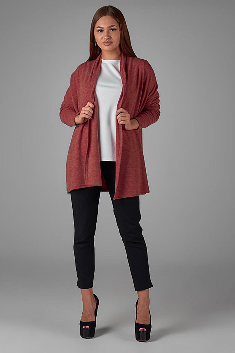 Кардиган для женщин ALTEX 161403 купить оптом от производителя. Совместная покупка женской одежды в OptMoyo