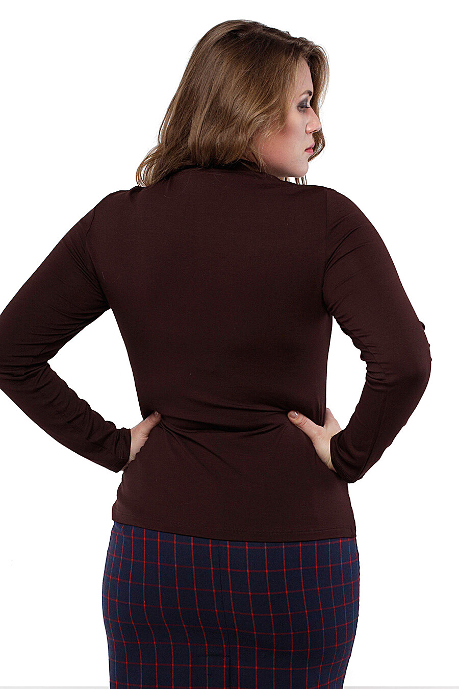 Водолазка для женщин DREAM WORLD 165395 купить оптом от производителя. Совместная покупка женской одежды в OptMoyo