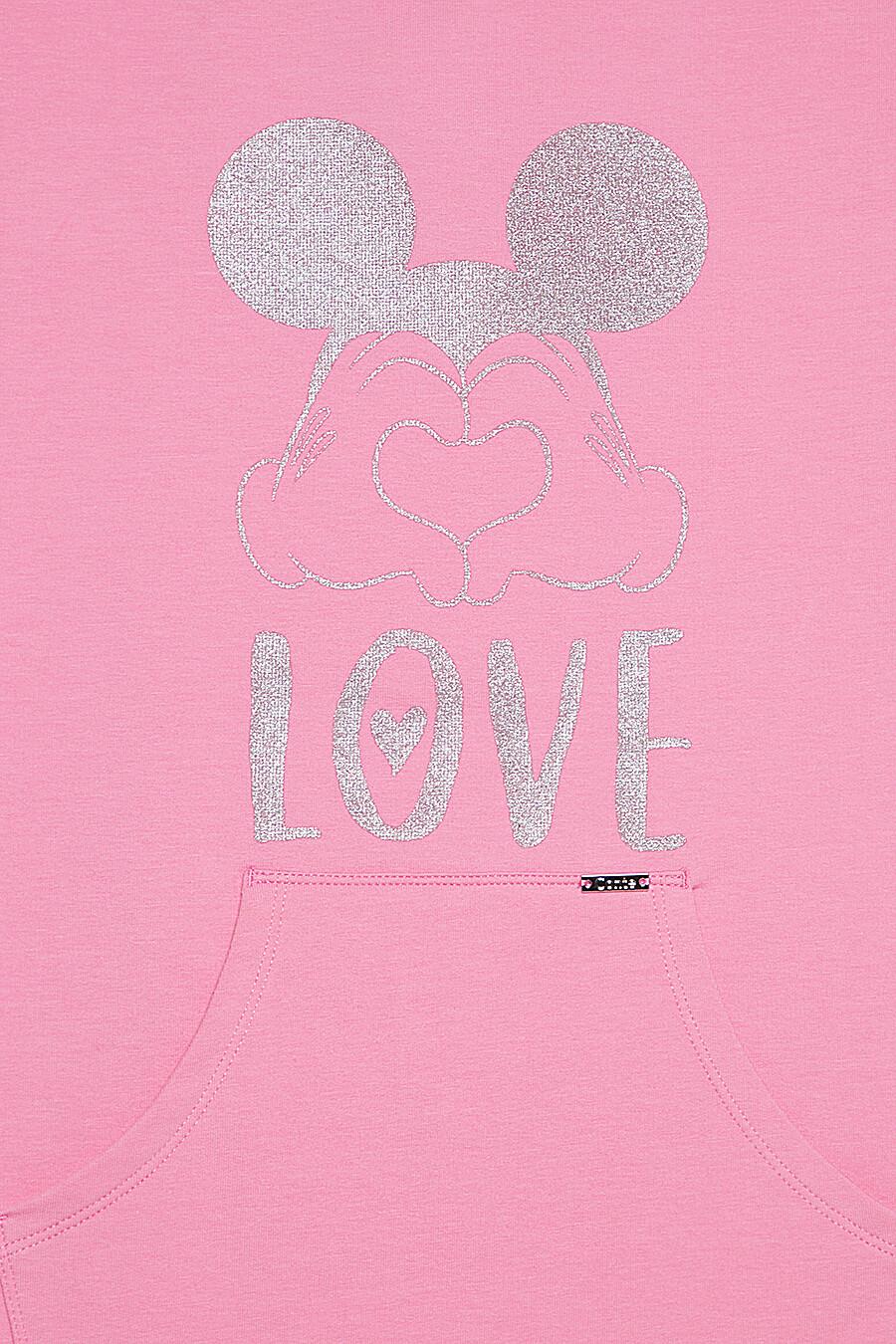 Туника для девочек CONTE KIDS 165577 купить оптом от производителя. Совместная покупка детской одежды в OptMoyo