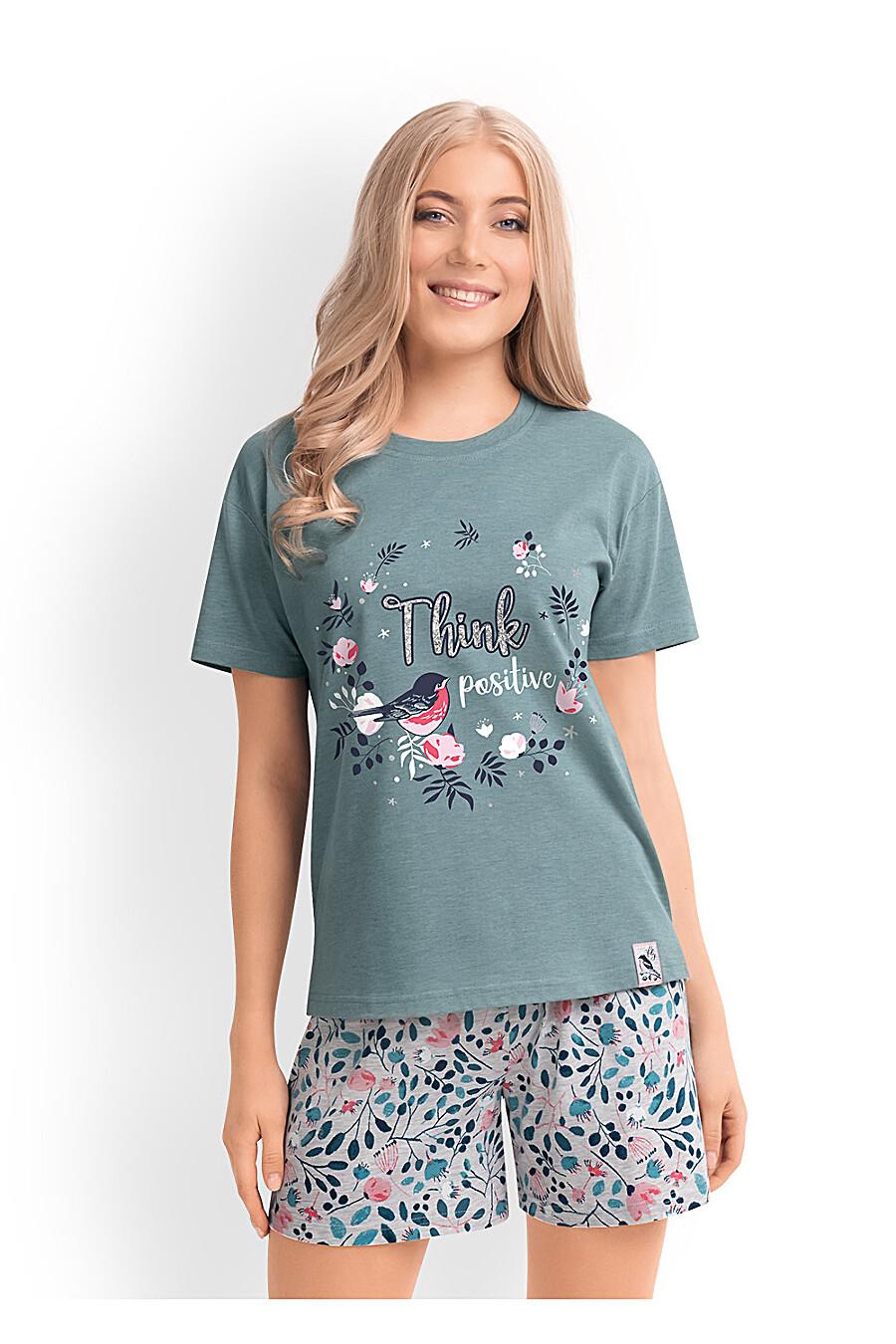 Комплект (футболка+шорты) CLEVER (169237), купить в Optmoyo.ru