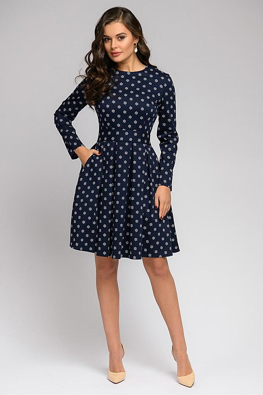 Платье для женщин 1001 DRESS 169261 купить оптом от производителя. Совместная покупка женской одежды в OptMoyo