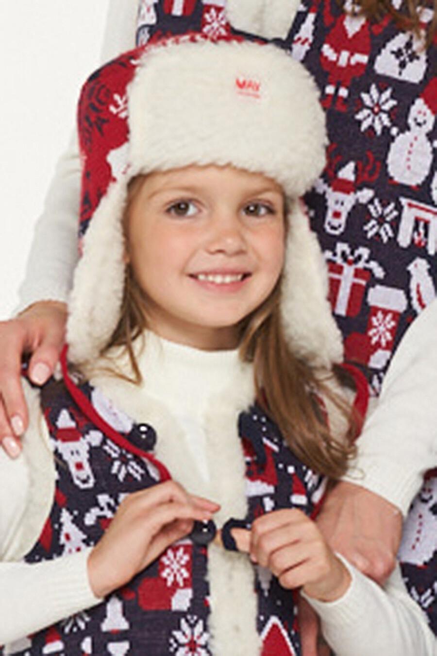 Шапка для девочек VAY 169266 купить оптом от производителя. Совместная покупка детской одежды в OptMoyo