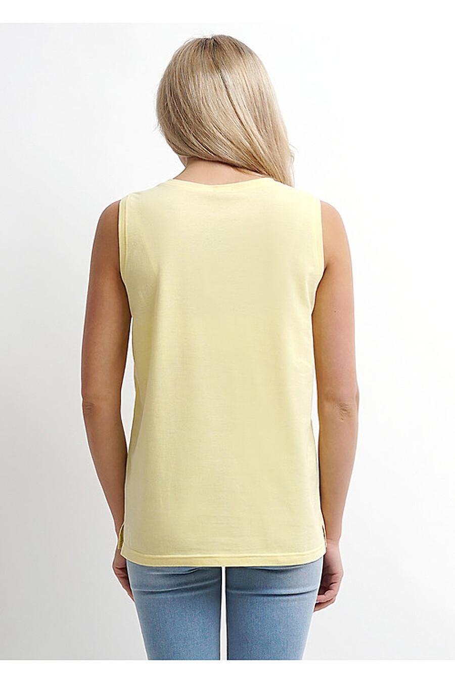 Майка для женщин CLEVER 169281 купить оптом от производителя. Совместная покупка женской одежды в OptMoyo
